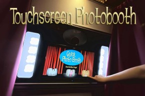 Los Angeles Touch Screen Quick Photo Booth Rental Service