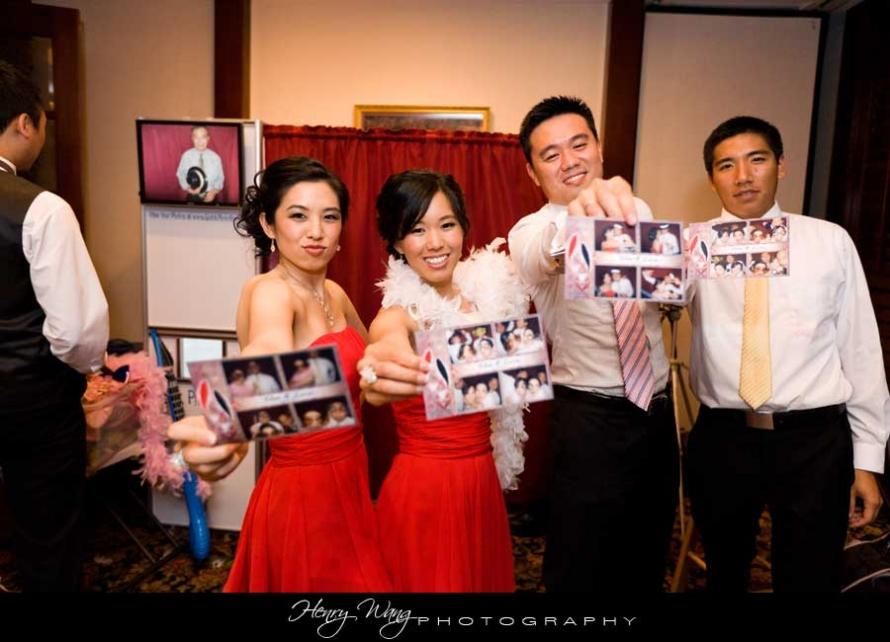 Cerritos Wedding Reception Photo Booth